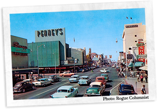 Downtown Phoenix 1950's
